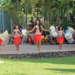 Backyard Luau at South Kihei Vacation Rental